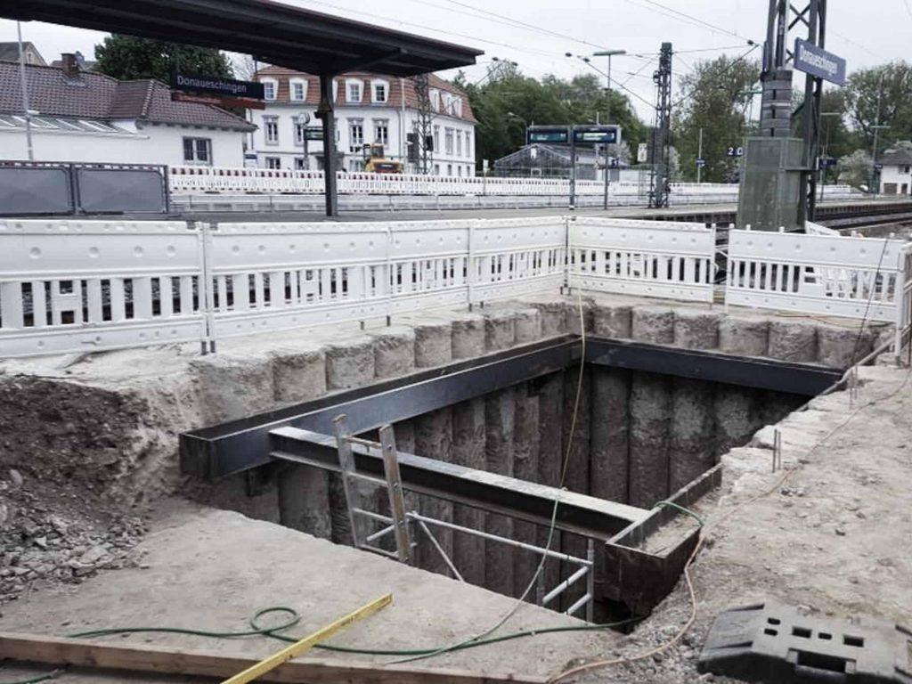 Ingenieurbüro Nebel - Ingenieurbüro Mespelbrunn - Projekt - Bahnhof Donaueschingen