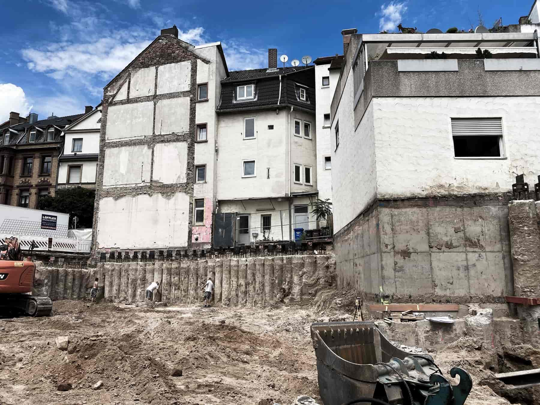 Ingenieurbüro Nebel - Ingenieurbüro Mespelbrunn - Projekt - Erbsengasse Aschaffenburg