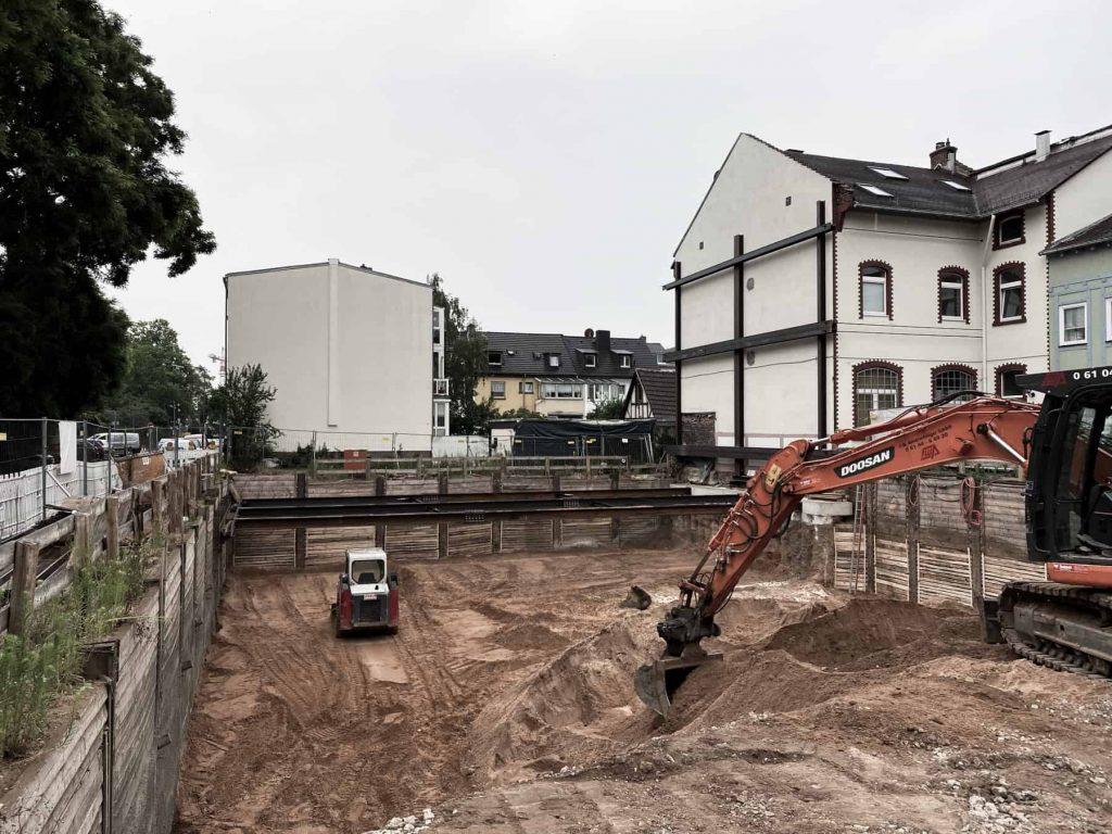 Ingenieurbüro Nebel - Ingenieurbüro Mespelbrunn - Projekt - Schwanheimer Straße Frankfurt